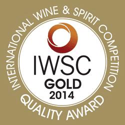 IWSC 2014 Gold Award