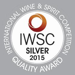 IWSC 2015 Silver Award