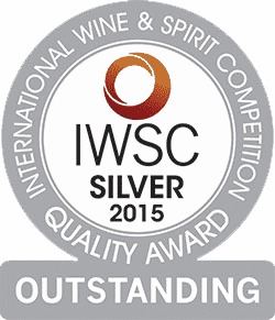 IWSC 2015 Silver Award - Outstanding