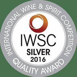 IWSC 2016 Silver Award