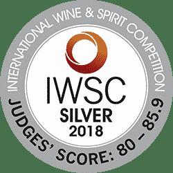 IWSC 2018 Silver Award