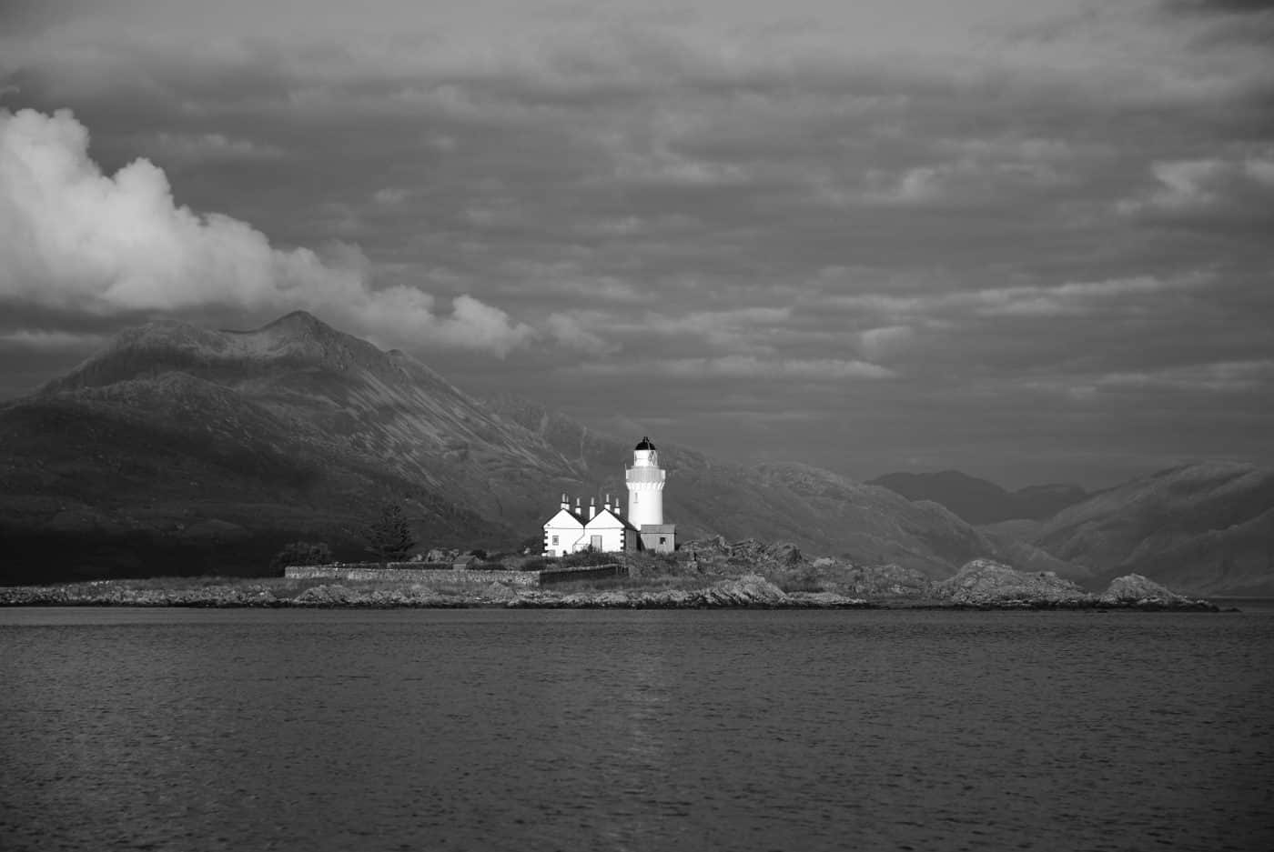 Isleornsay lighthouse